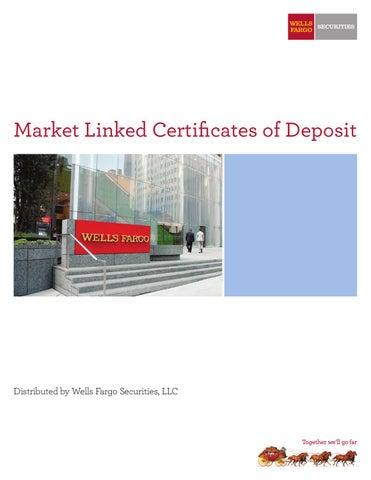 Wells Fargo Market Linked CDs by Karen Bosso - issuu