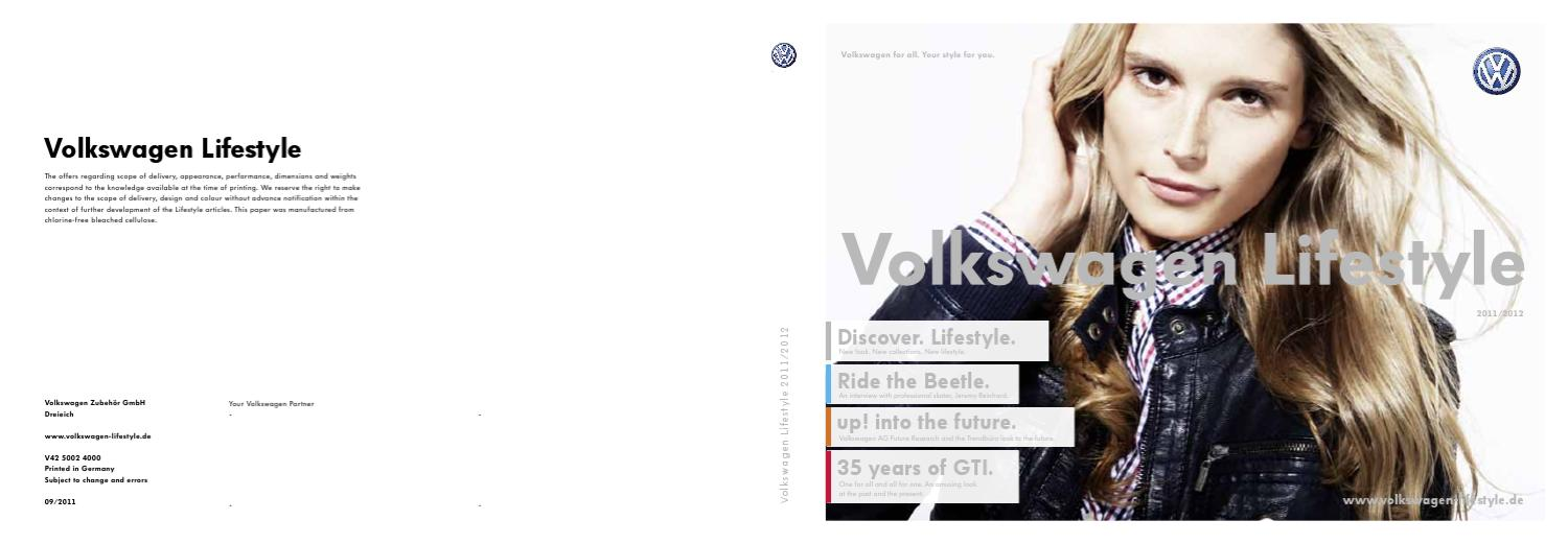 3b1e1be4107 Catalog accesorii Volkswagen Lifestyle 2012 by Porsche Inter Auto - issuu