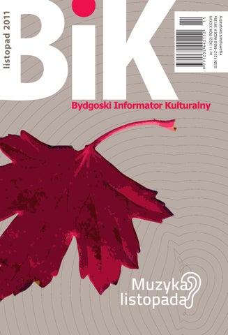 Bik 112011 By Miejskie Centrum Kultury W Bydgoszczy Issuu