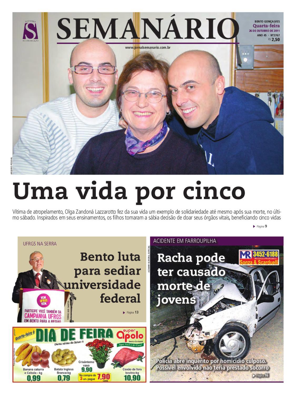 b05ea38be 26/10/2011 Jornal Semanário by jornal semanario - issuu