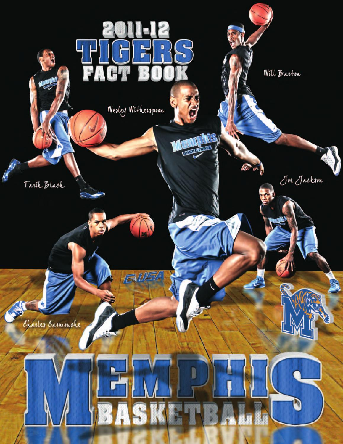 2011-12 Memphis Men s Basketball Fact Book by University of Memphis  Athletic Media Relations - issuu 5e68a55257996