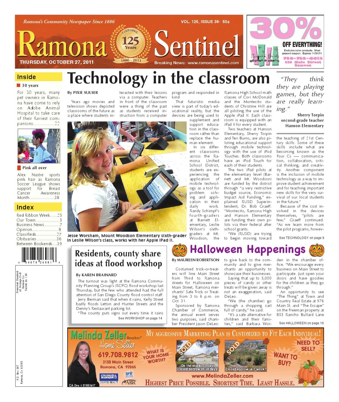 0eb3ea12941 Ramona Sentinel Newspaper by MainStreet Media - issuu