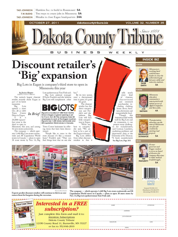 10/27/2011 - dakota county tribune business weekly by dakota
