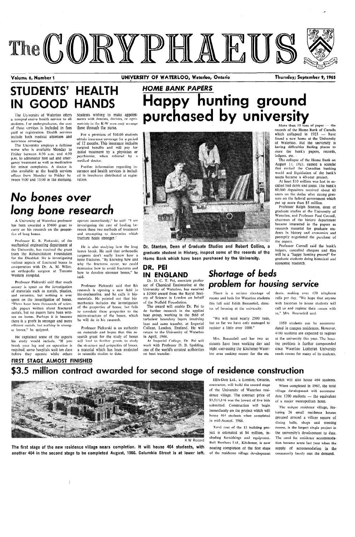 1965-66_v6,n01_Coryphaeus by Editor Imprint - issuu