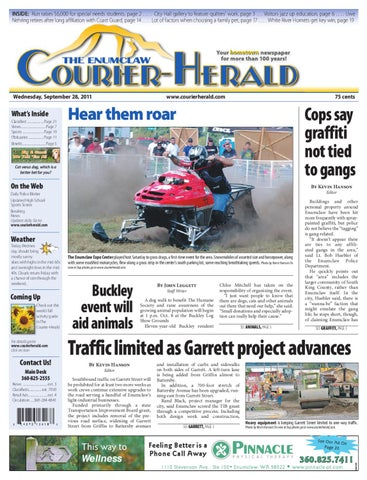 Enumclaw Courier-Herald, September 28, 2011 by Sound ... on