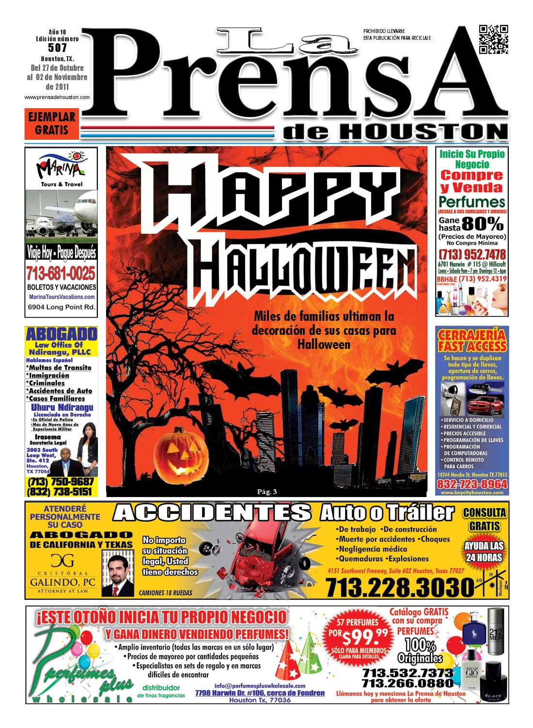 LA PRENSA DE HOUSTON 507 by La Prensa de Houston - issuu 7c456f1c7f