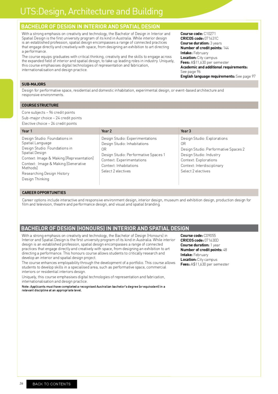 Uts Undergraduate Prospectus By Mj Education Issuu