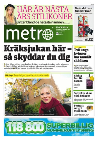best sneakers 2b7ac 59e32 20111027 se stockholm by Metro Sweden - issuu