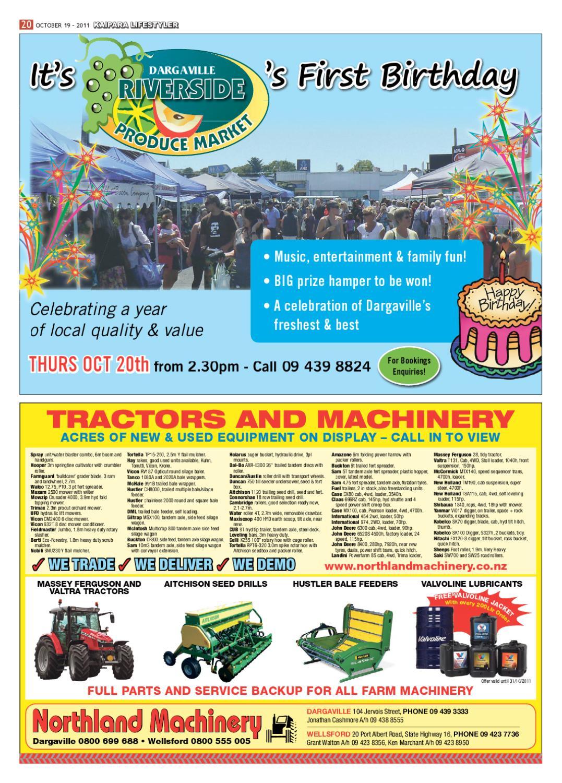 Kaipara Lifestyler, October 19 2011 by Integrity Community Media - issuu