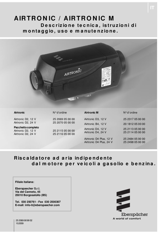 Schemi Elettrici Webasto : Webasto airtronic d d by fap issuu
