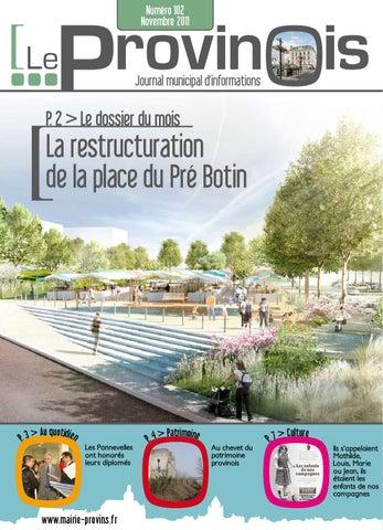 Le Provinois N102 Novembre 2011 By Ville De Provins Issuu