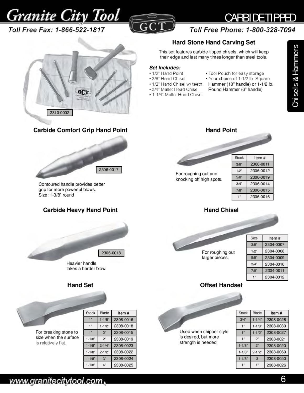 Granite City Tool Monument Catalog 2009 by Granite City Tool