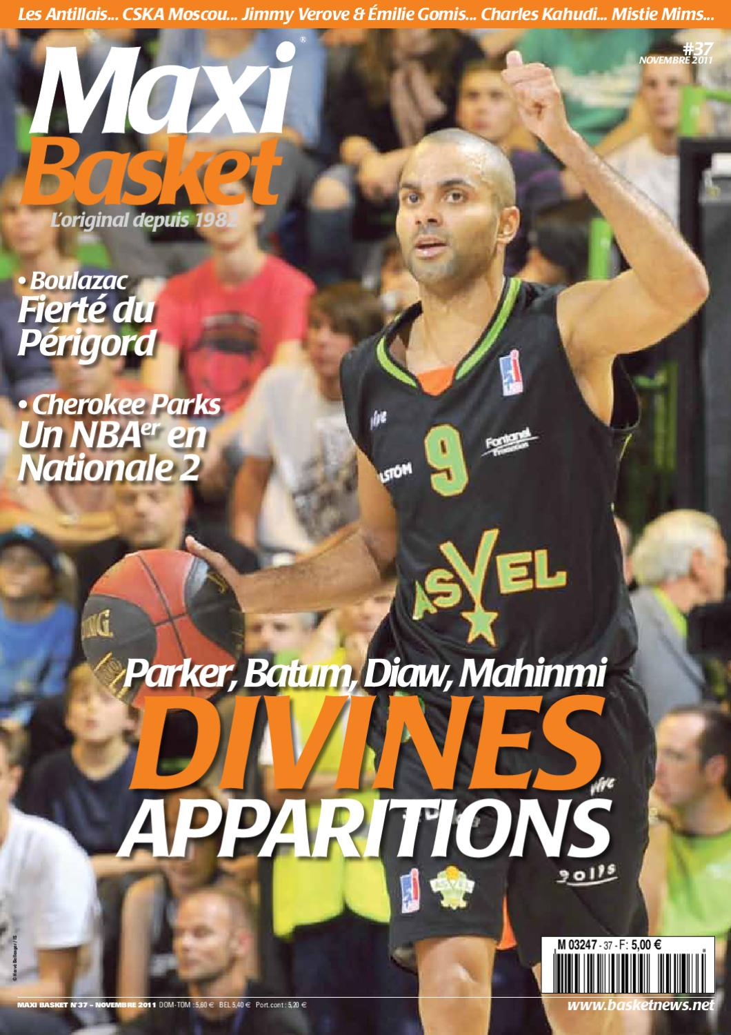Maxi Basket 37 by MaxiBasketNews® Tomar Presse issuu