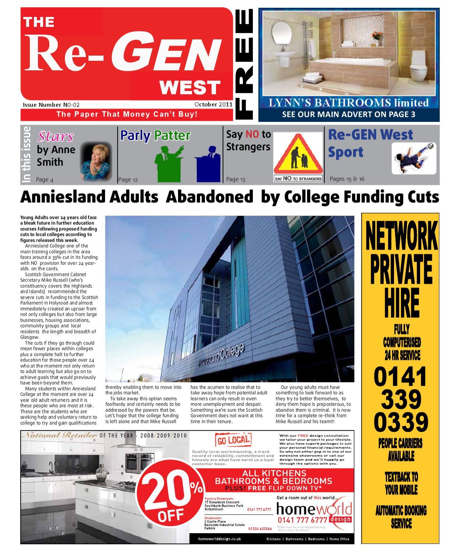 3af2af60 The Re-Gen West - Issue 2 October by Re-gen Newspaper - issuu