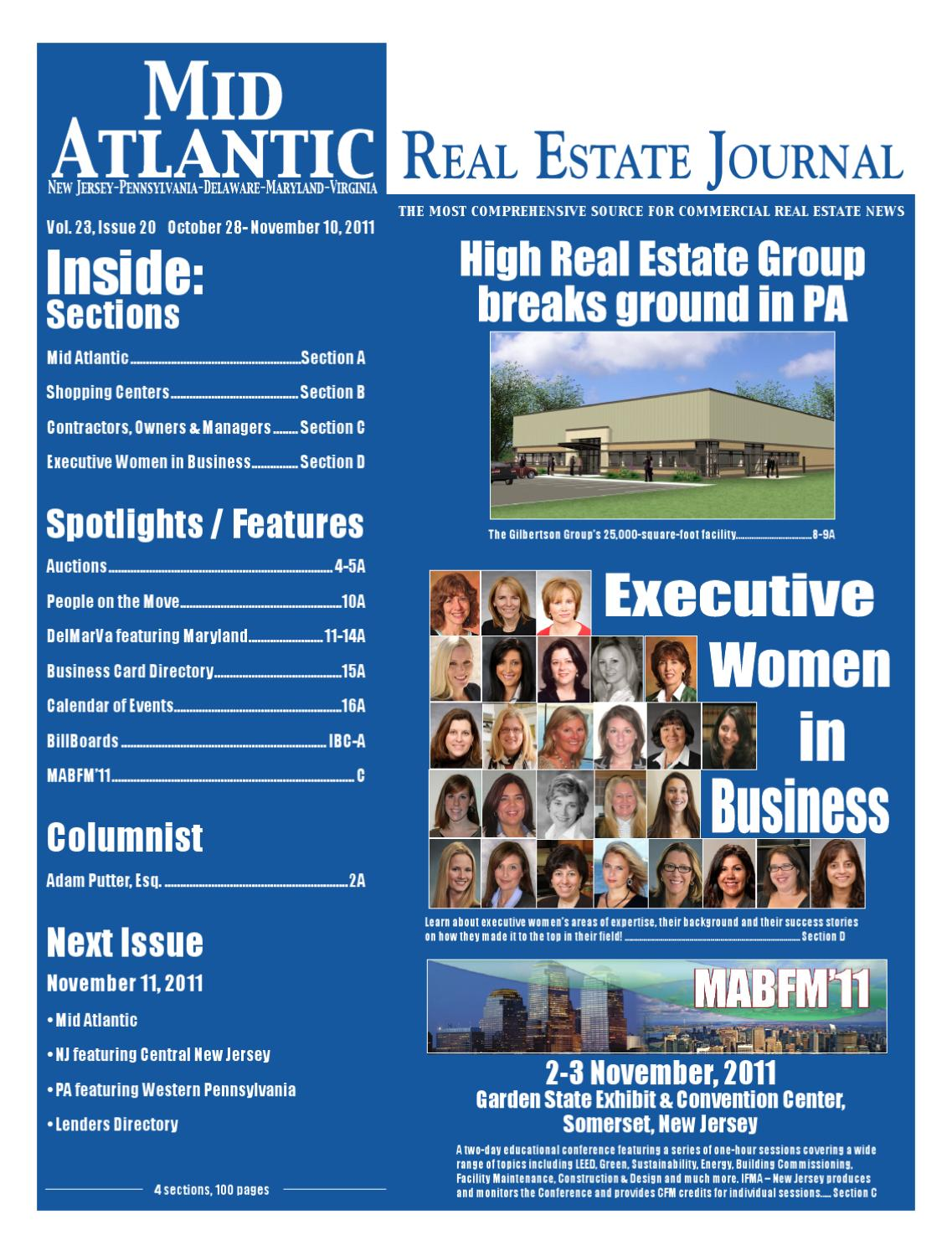 10-28-2011 by Mid Atlantic Real Estate Journal - issuu