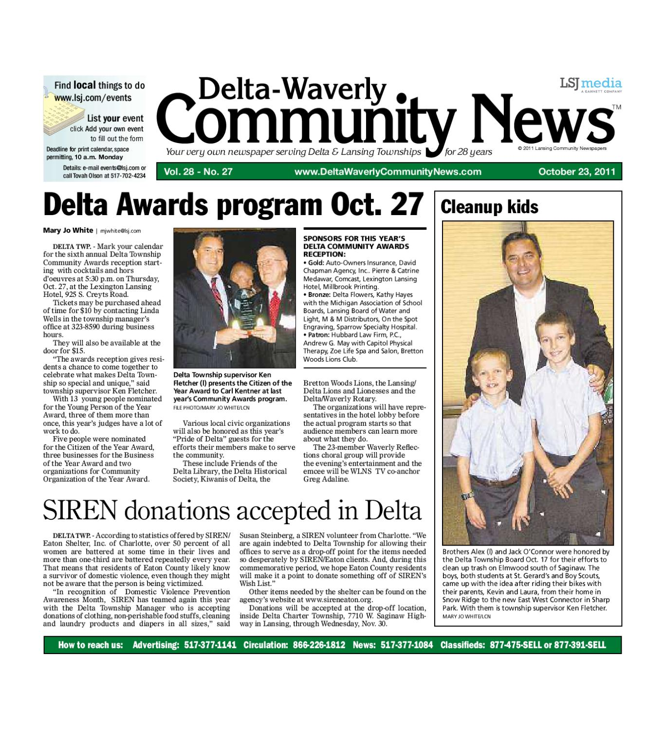 Dwcn 10 23 11 By Lansing State Journal Issuu