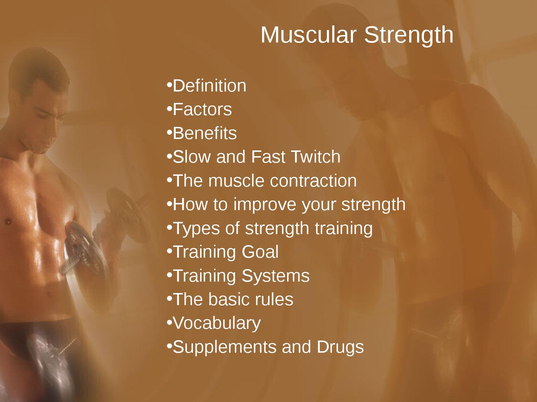 Muscular endurance definition brian mack