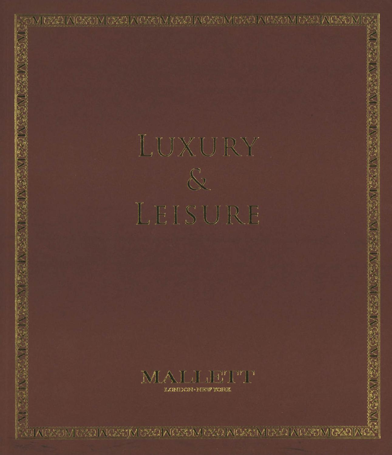 Mallett Antiques - Luxury and Leisure by Mallett - issuu