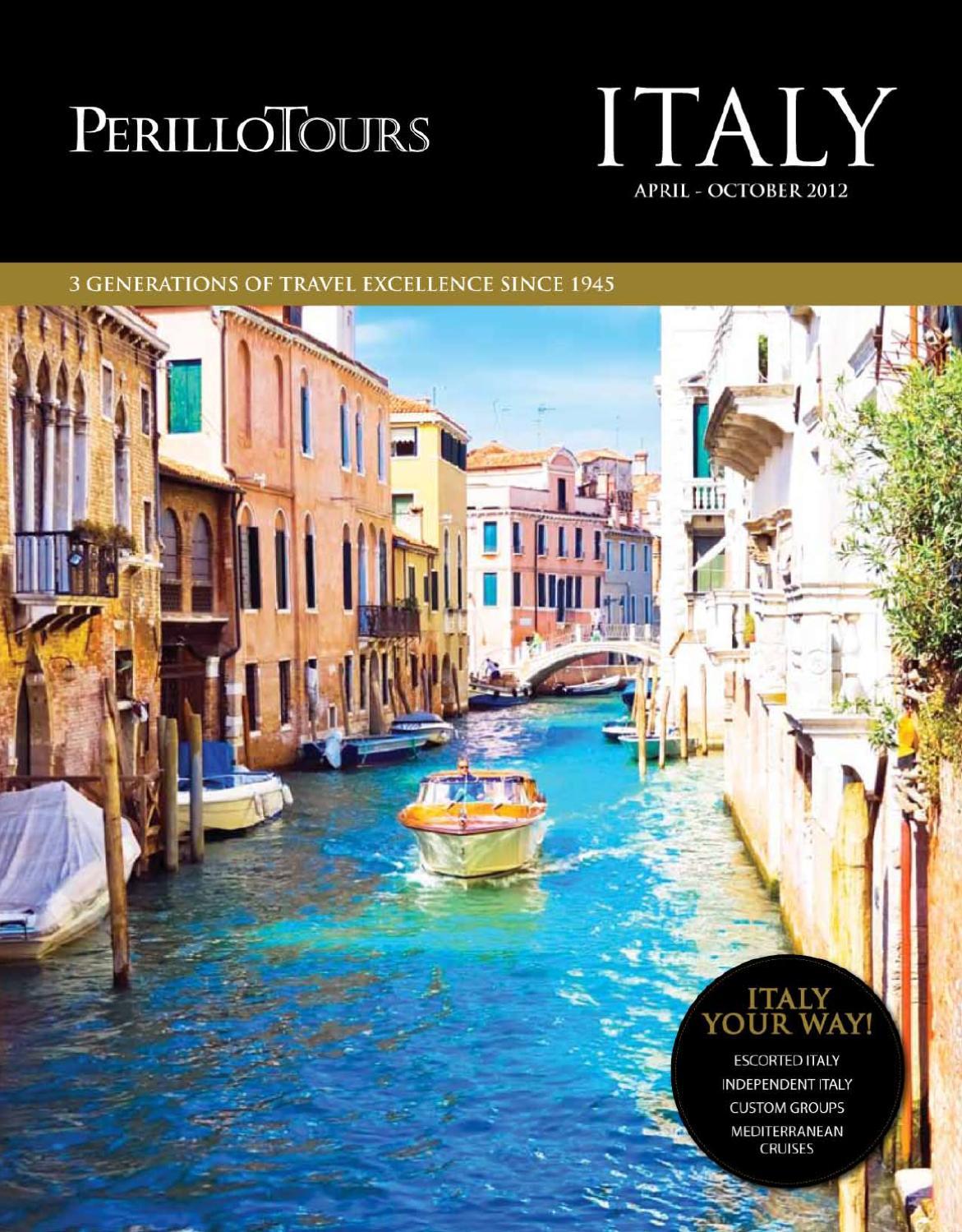 Perillo Tours   Italy Brochure   APRIL   OCTOBER 20 by Perillo ...