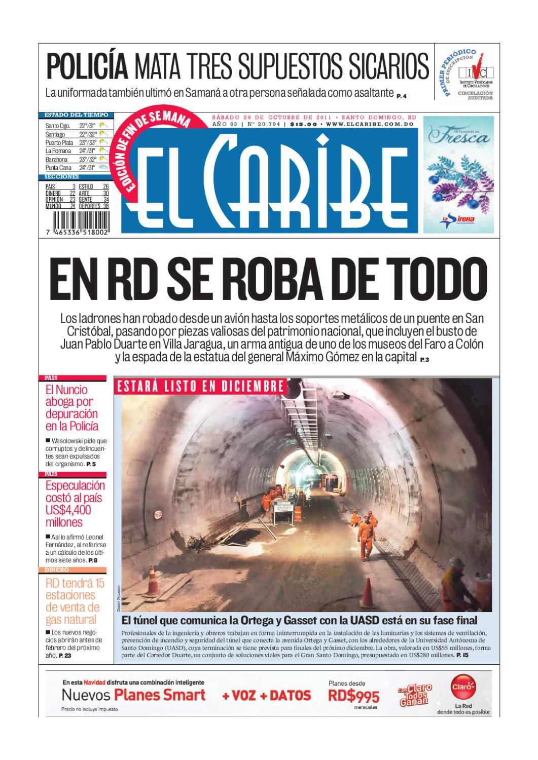 El Caribe by Multimedios del Caribe - issuu