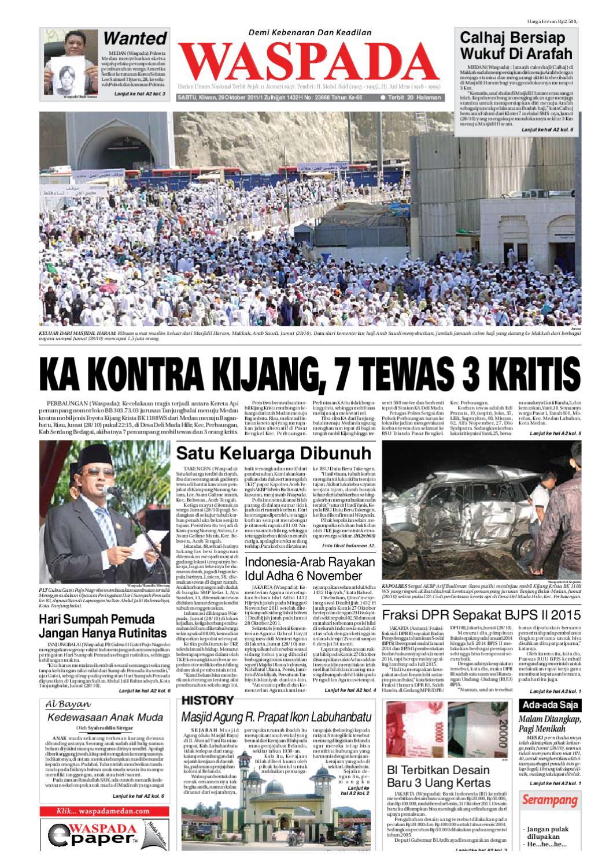 Waspada Sabtu 29 Oktober 2011 By Harian Waspada Issuu