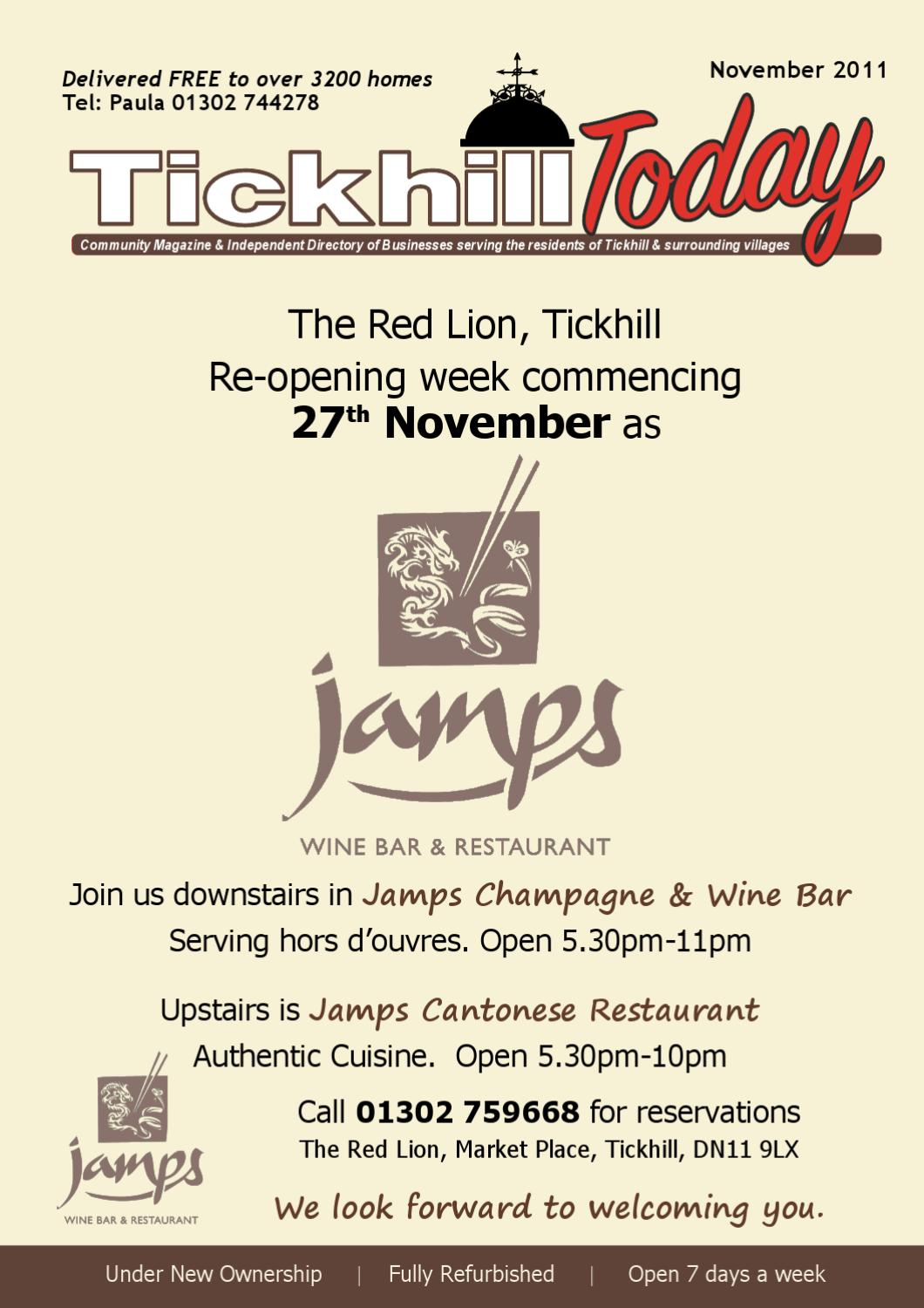 Jamps Wine Bar And Cantonese Restaurant Doncaster