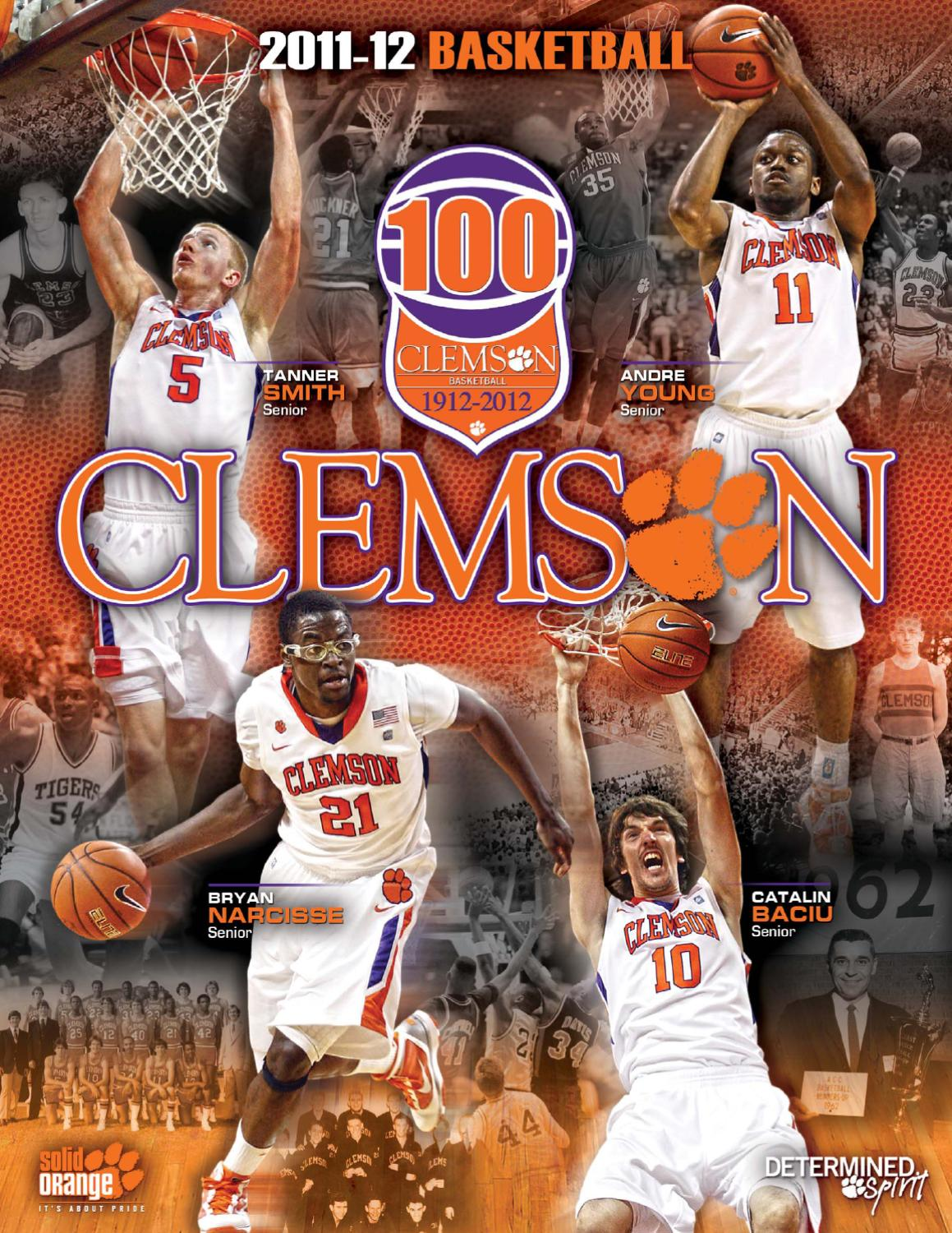 9c32ae7a80dc 2011-12 Clemson Men s Basketball Media Guide by Clemson Tigers - issuu