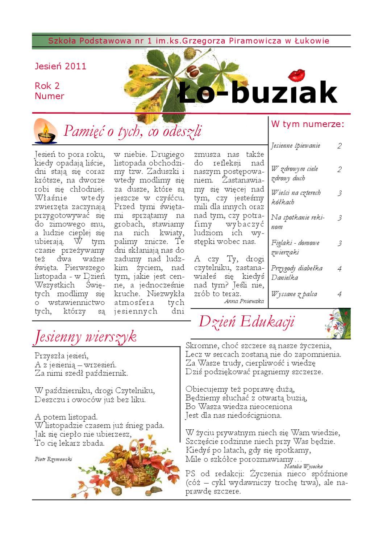 Lobuziakx2011 By Anna Poźniak Issuu