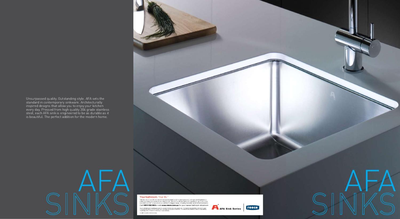 Reece Kitchen Sinks Reece afa sinks by tashome issuu workwithnaturefo