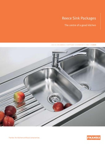 Reece Kitchen Sinks Reece frankes sinks by tashome issuu reece sink packages the centre of a good kitchen workwithnaturefo