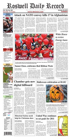 10 30 11 rdr newspaper by Roswell Daily Record issuu  free shipping