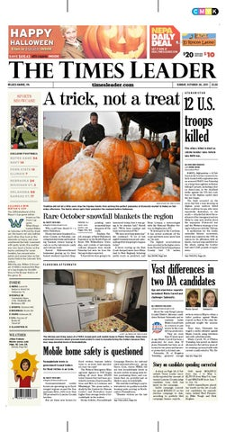 4f71b7193647 Times Leader 10-30-2011 by The Wilkes-Barre Publishing Company - issuu