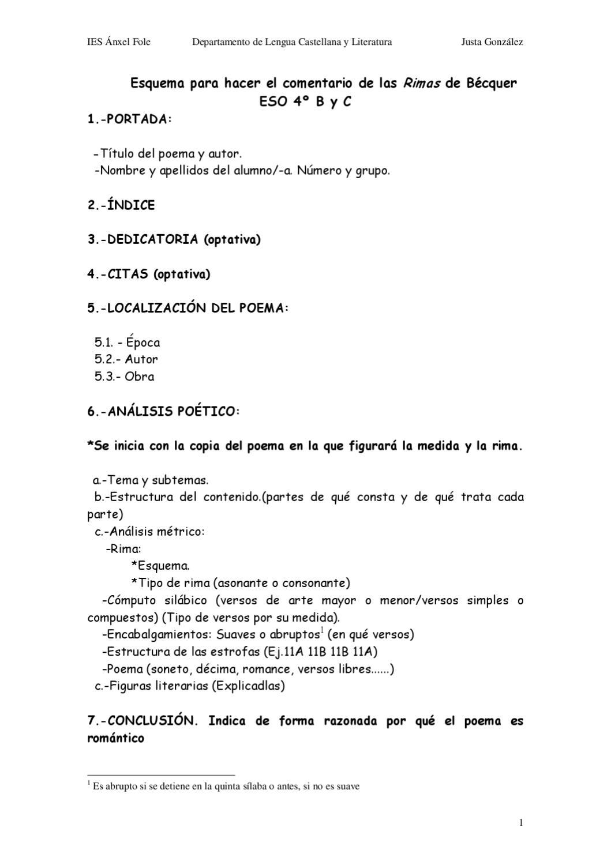 Trabajo Rimas By Justa González Arias Issuu