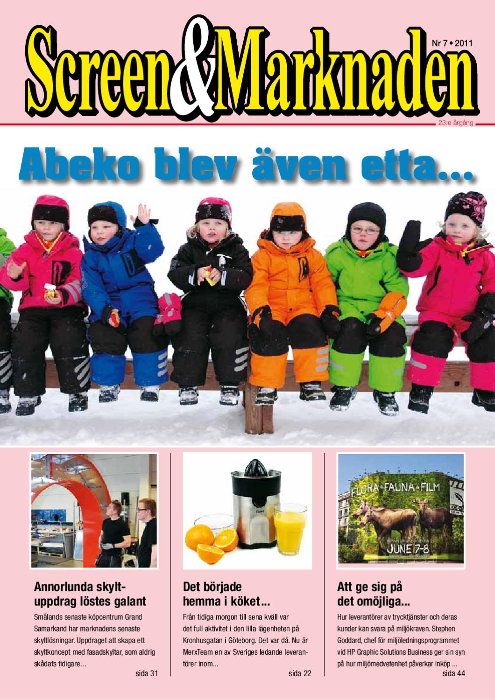 Screen Marknaden nummer 7-2011 by Martin Eriksson - issuu 9a1f70fd43106