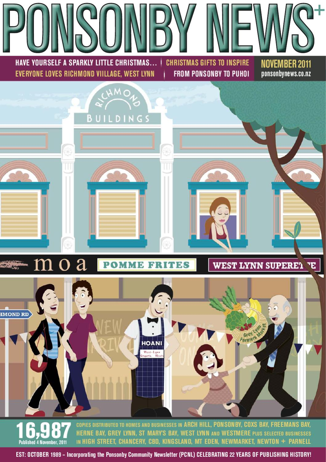 456c75f2f7725 NOVEMBER 11 - Ponsonby News by Ponsonby News - issuu