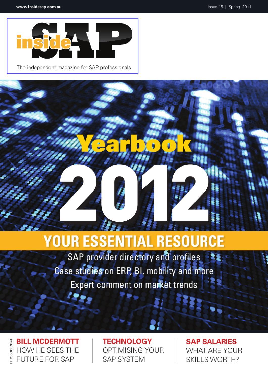 Inside SAP Year book 2012