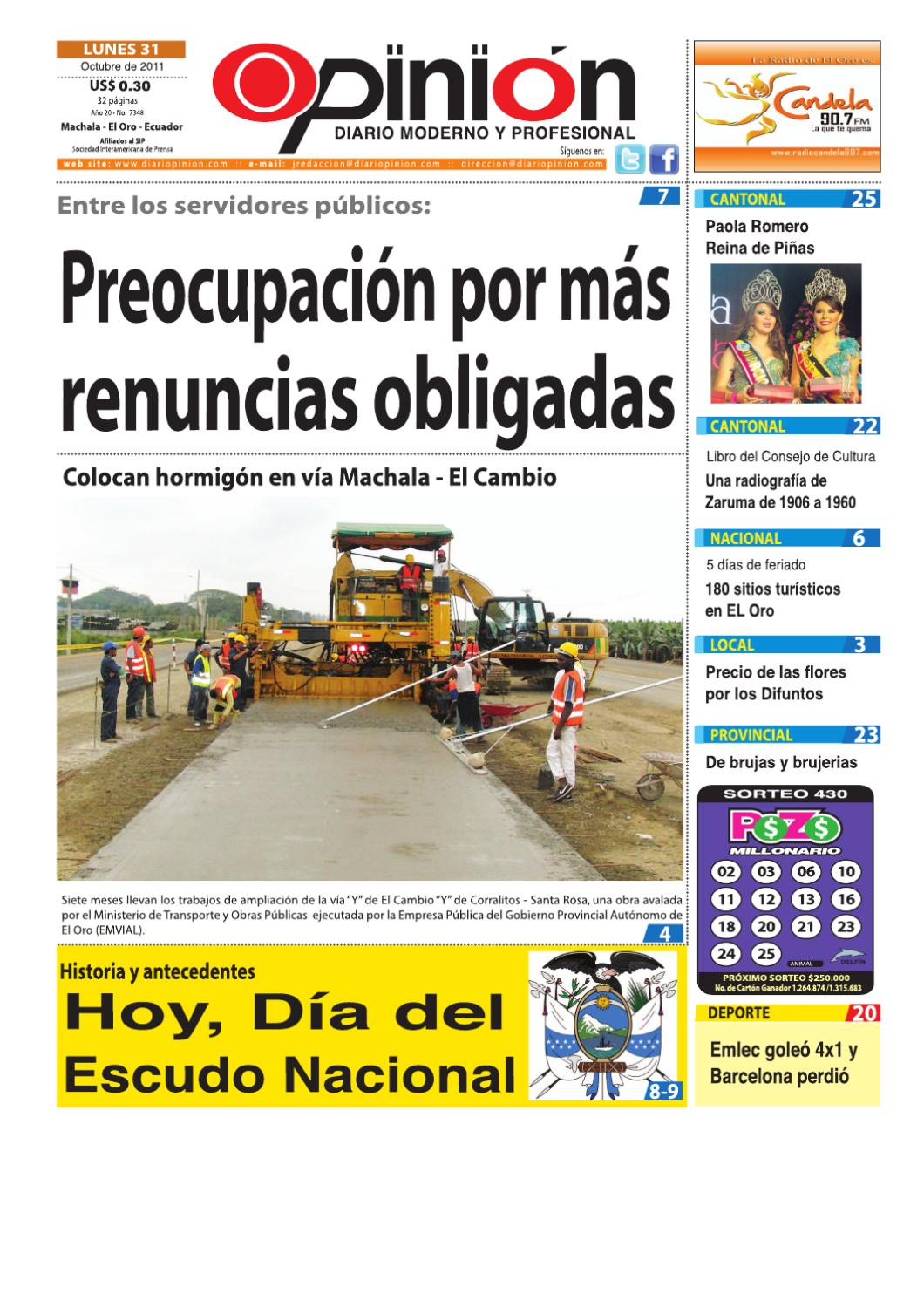 Diario Opinion - Edicion Impresa by Diario Opinion - issuu