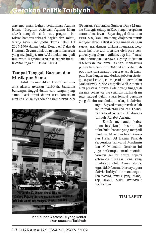 Majalah Suara Mahasiswa Edisi 25 By Universitas Cover Al Matsurat Hasan Bana Indonesia Issuu