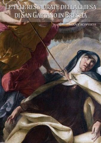 Le tele restaurate della chiesa di San Gaetano in Brescia ...