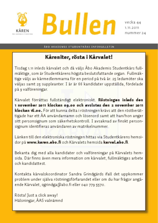 information kandidattest