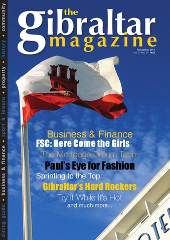 The Gibraltar Magazine November 2011 Edition By Rock Publishing Ltd