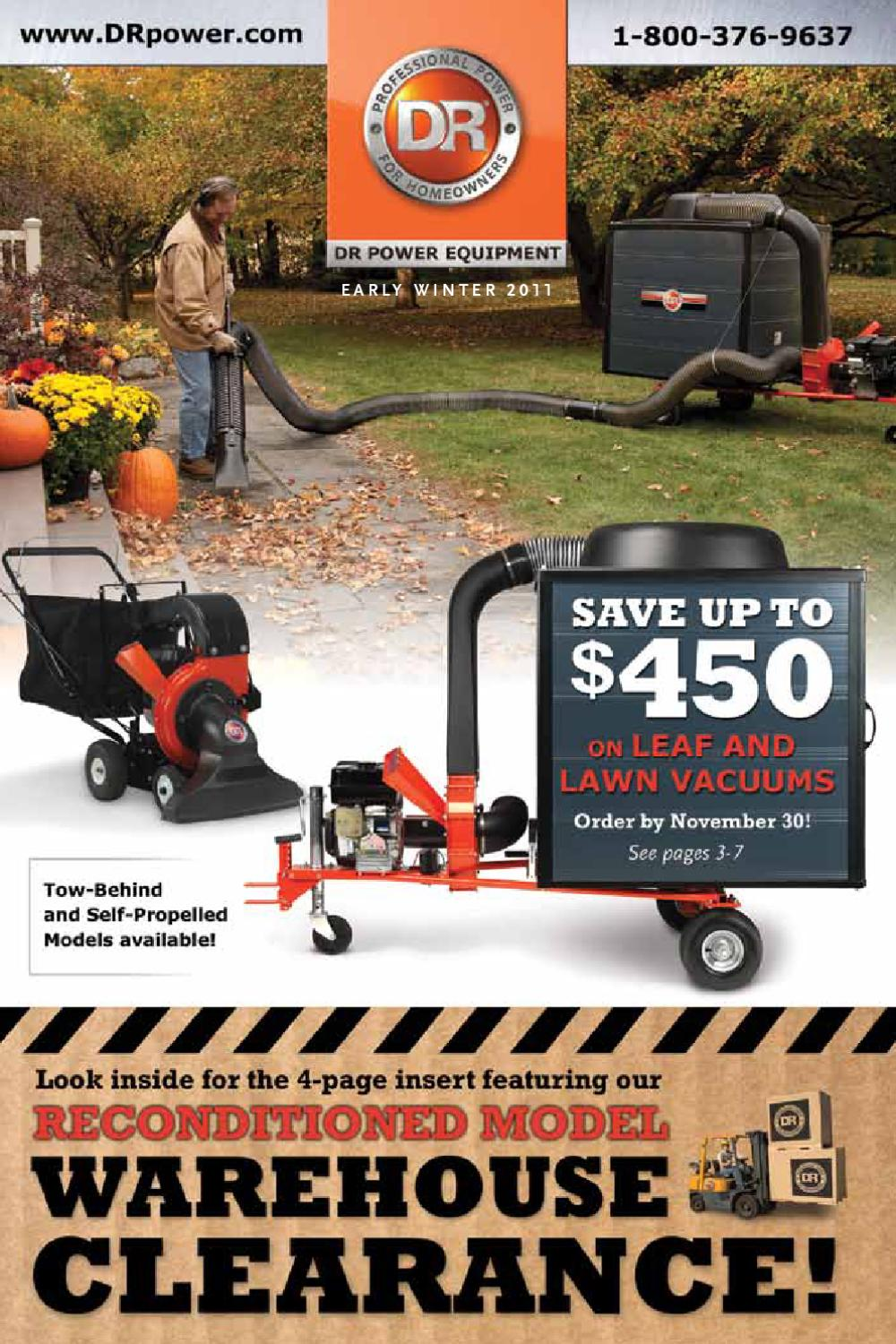 Dr Power Equipment Early Winter 2011 Catalog By Issuu Llv Mail Truck Fuel Filter
