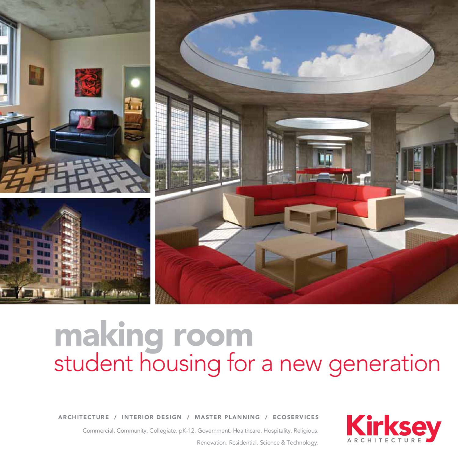 Making Room Student Housing For A New Generation By