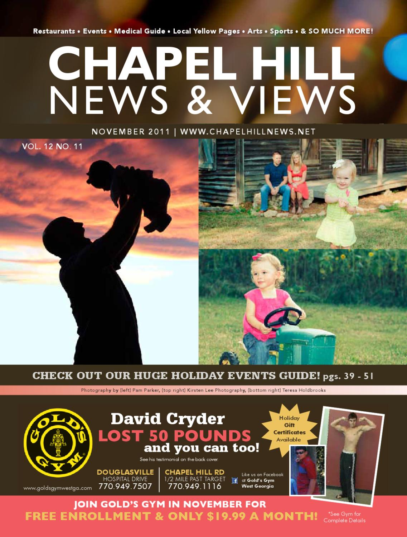 6c80c04e42d Chapel HIll News   Views - November 2011 by Lindsey Robbins - issuu