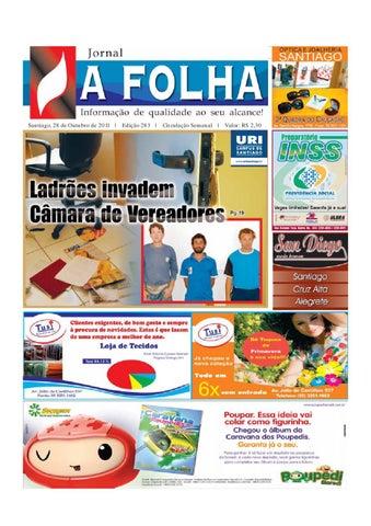 27ded25348 A Folha Santiago