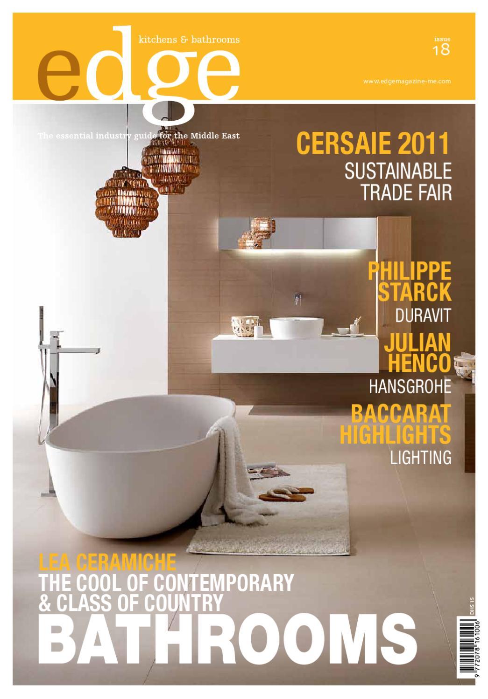 EDGE Kitchens U0026 Bathrooms Magazine By Amed   Issuu