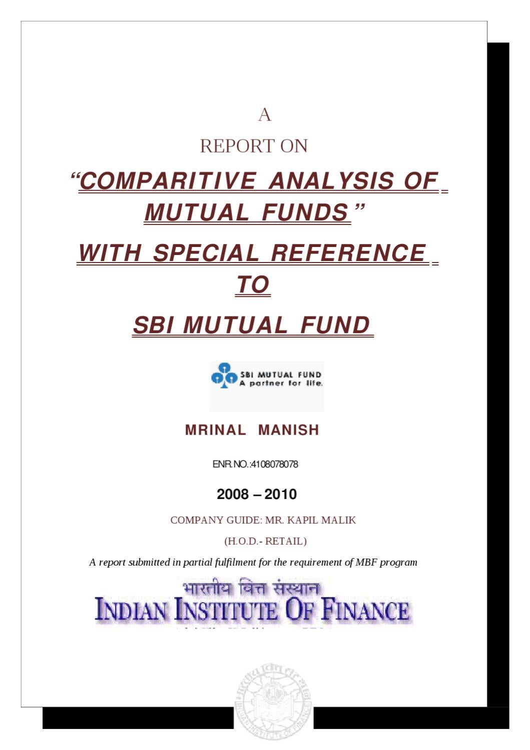 MUTUAL FUNDS AND ULIPS