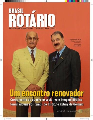 Brasil Rotário - Outubro de 2011 by Revista Rotary Brasil - issuu 452748adc17