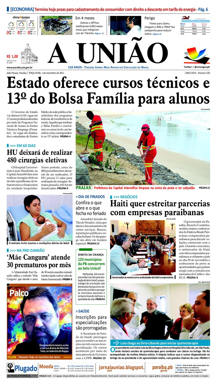 Jornal A UNIÃO by Jornal A União - issuu 0a12542776837