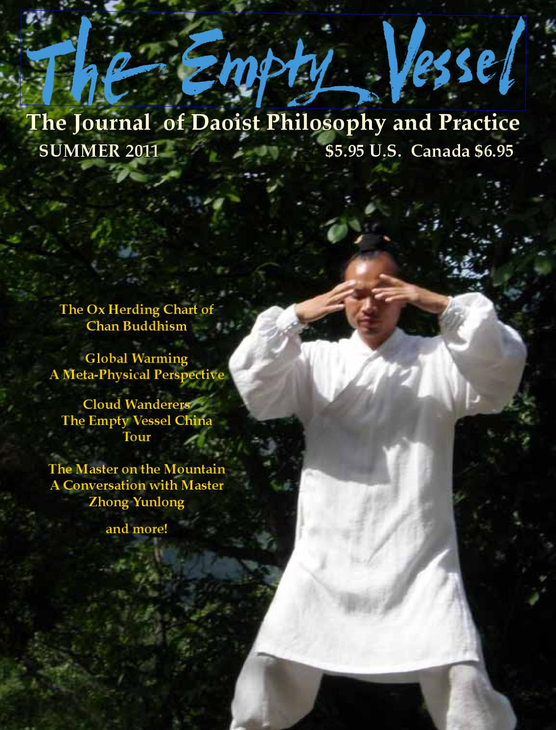 The Empty Vessel: The Journal of Daoist Philosophy and Practice ...
